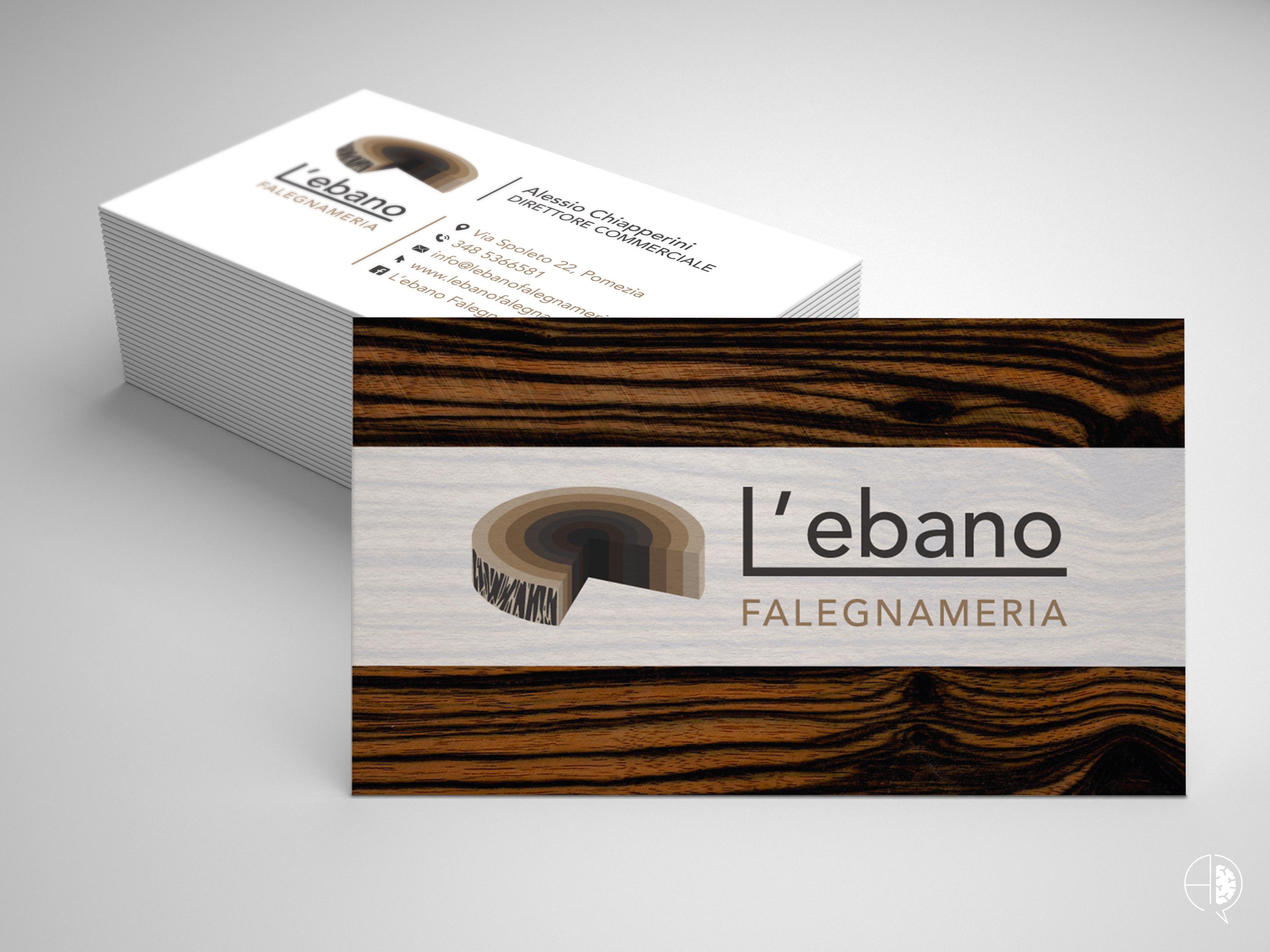 Rebranding L'ebano Falegnameria