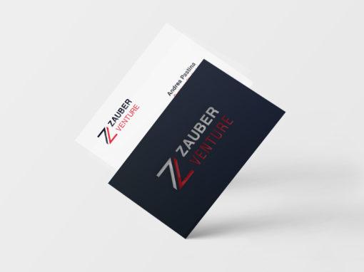 Brand Design per Zauber Venture – società di consulenza strategica per le aziende