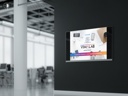 Slide presentazione per Agenzia di Comunicazione VIMALAB