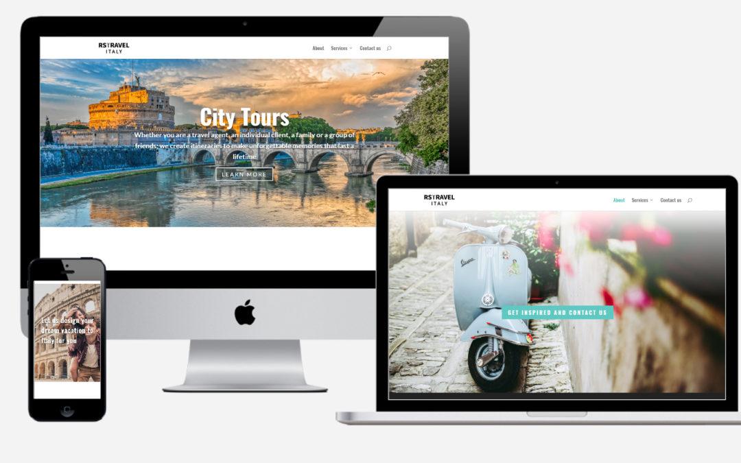 Web Design per RS Travel Italy – Agenzia viaggi