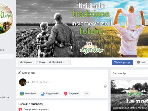 Graphic design per il web e i canali social di Noi Siamo Agricoltura