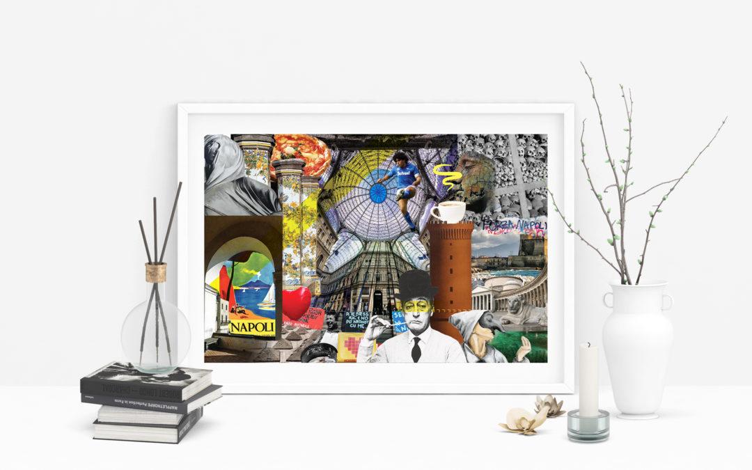 Quadro Collage Napoli